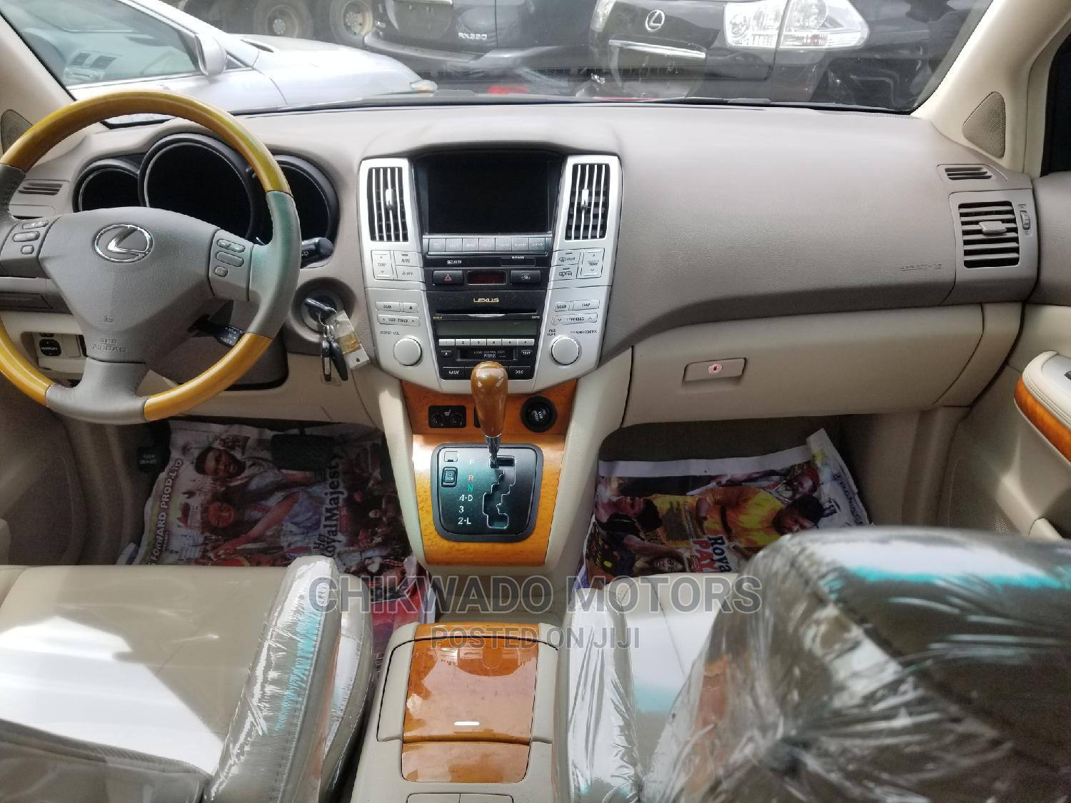 Lexus RX 2009 350 AWD Red | Cars for sale in Lekki, Lagos State, Nigeria