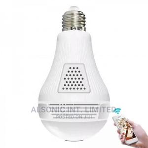1080p Panoramic 2mp Hd Mini Wireless Light Bulb Camera Wifi | Security & Surveillance for sale in Abuja (FCT) State, Wuse
