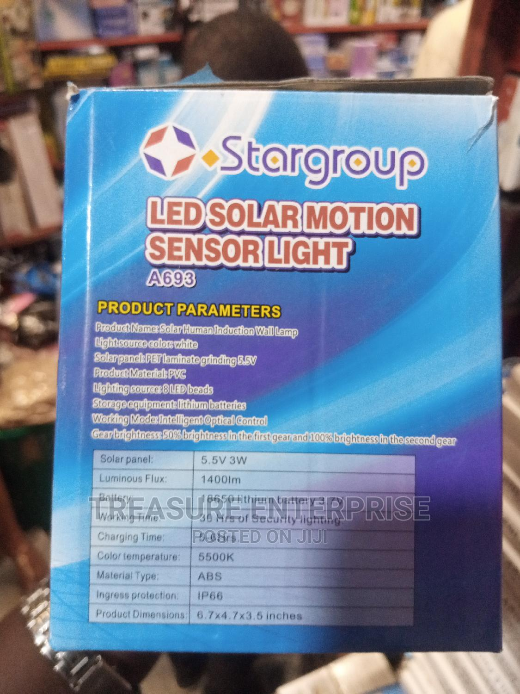 LED Solar Motion Sensor Light | Solar Energy for sale in Lagos Island (Eko), Lagos State, Nigeria