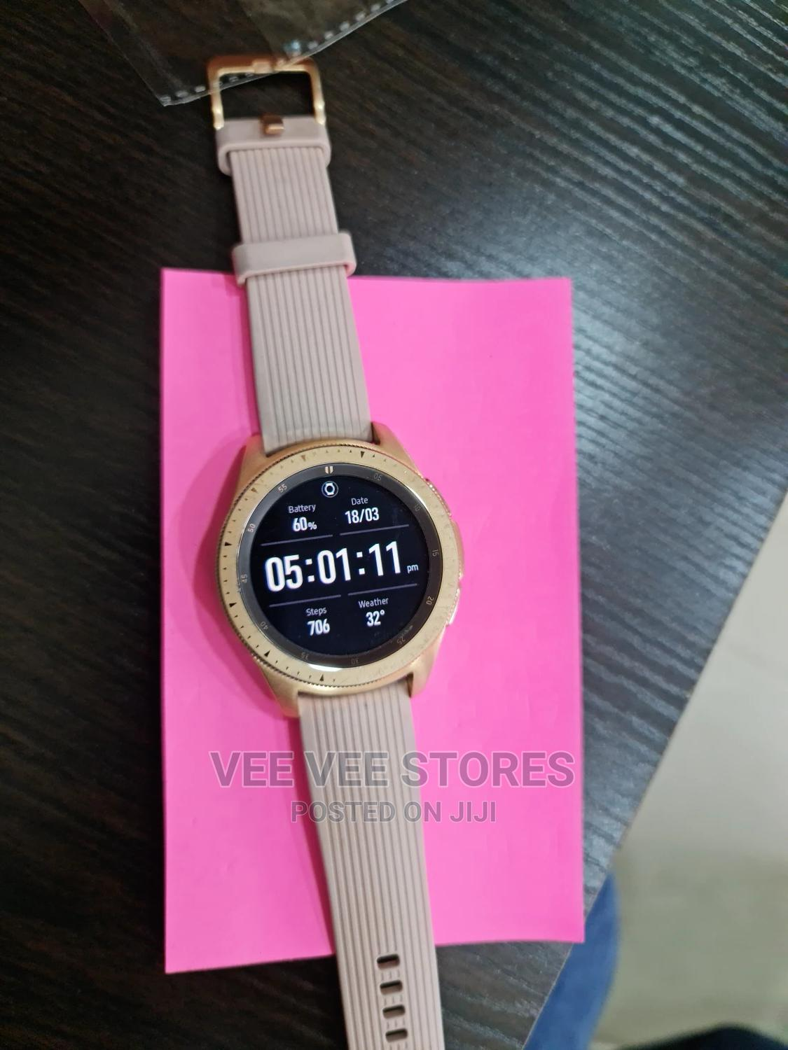 Samsung Galaxy Watch Rosegold | Smart Watches & Trackers for sale in Ikeja, Lagos State, Nigeria