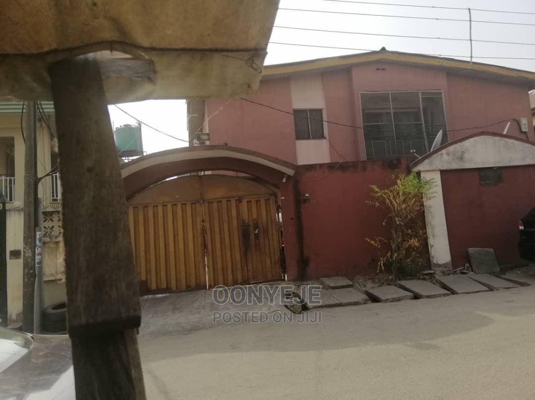 Archive: 2 Units 5 Bedroom Duplex Bq at Off Allen Avenue Lkeja