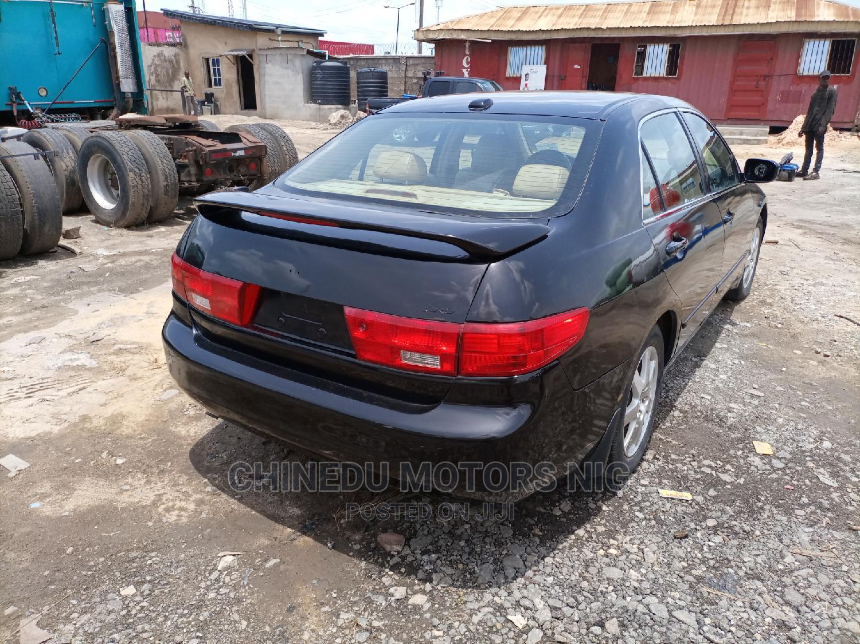 Honda Accord 2005 Black | Cars for sale in Amuwo-Odofin, Lagos State, Nigeria