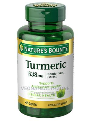 Nature's Bounty, Turmeric, 450 Mg, 60 Capsules | Vitamins & Supplements for sale in Lagos State, Ikoyi