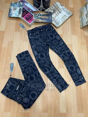 High Quality Chrome Heart Black Jeans for Men | Clothing for sale in Lagos State, Magodo