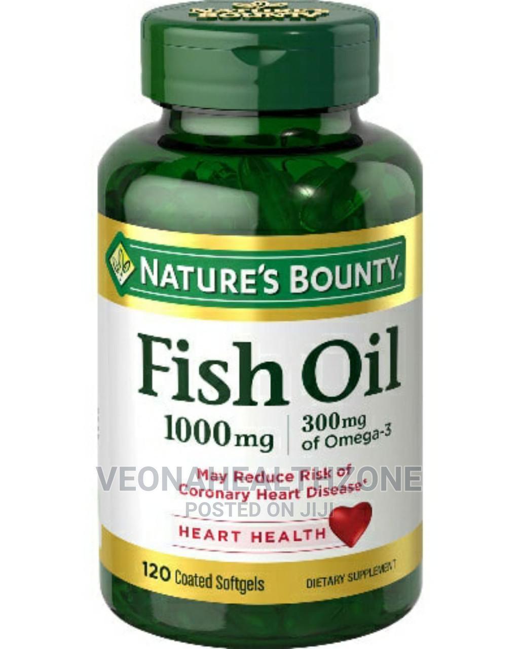 Nature's Bounty Fish Oil 1000mg Omega-3
