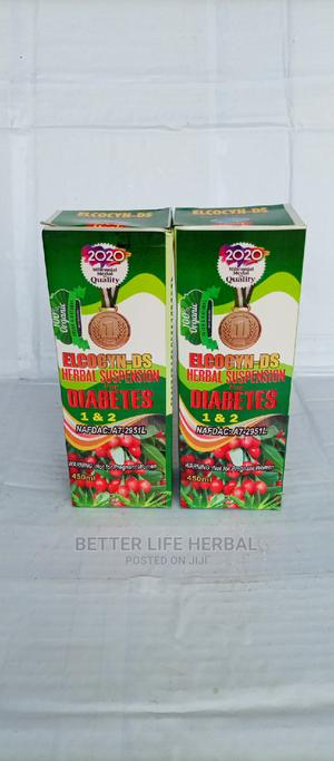 Elcocyn _ Ds Herbal Suspension for Diabetes 1 2 .   Vitamins & Supplements for sale in Lagos State, Amuwo-Odofin