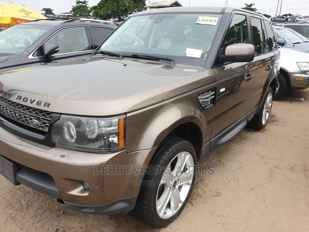 Archive: Land Rover Range Rover Sport 2012 HSE LUX Brown
