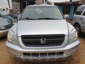 Honda Pilot 2004 EX-L 4x4 (3.5L 6cyl 5A) Silver | Cars for sale in Lagos State, Apapa