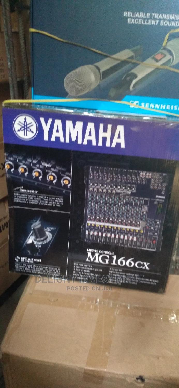 Yamaha MG 166cx