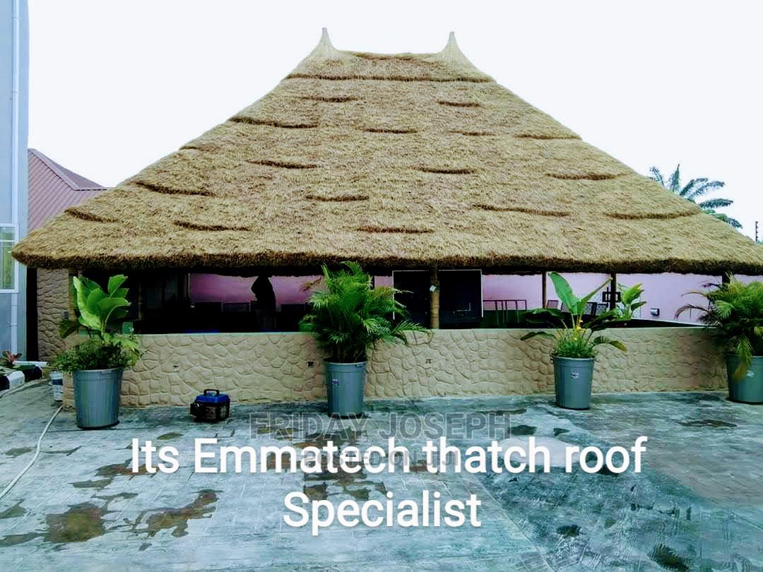 Bush Bar/Thatch Roof   Building & Trades Services for sale in Port-Harcourt, Rivers State, Nigeria