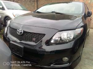 Toyota Corolla 2009 Black   Cars for sale in Lagos State, Maryland