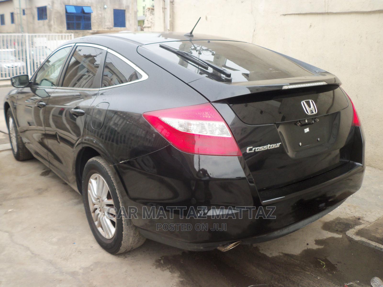 Honda Accord CrossTour 2012 EX-L Black   Cars for sale in Ikeja, Lagos State, Nigeria