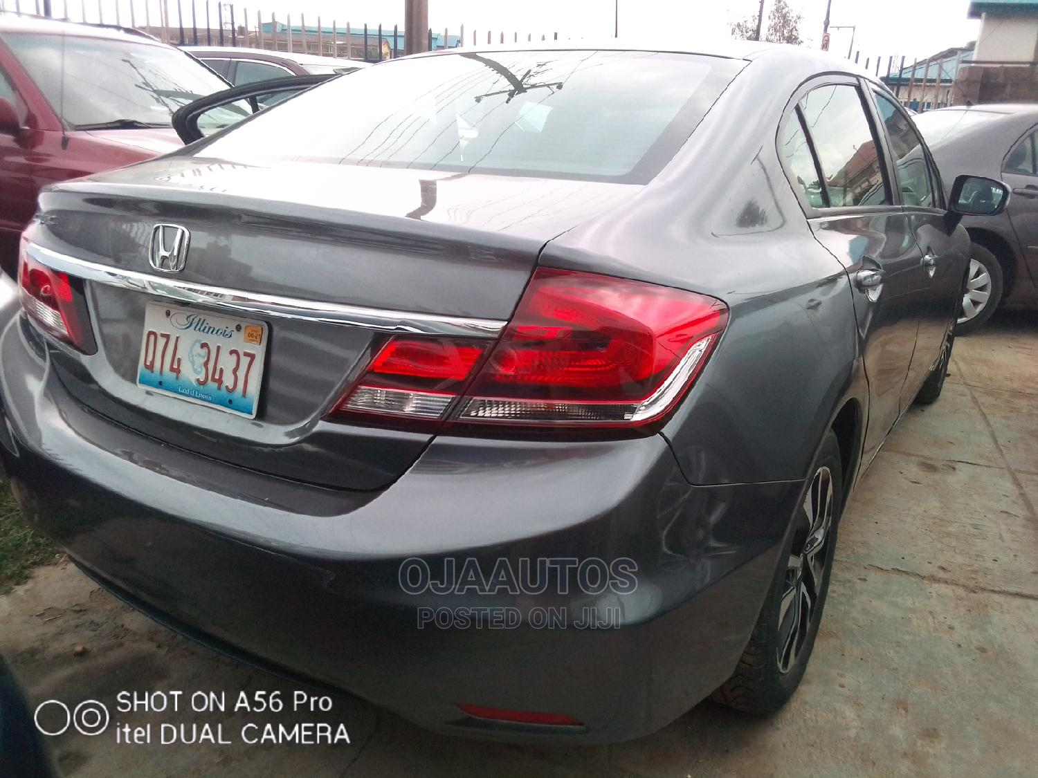 Honda Civic 2016 EX 4dr Sedan (1.5L 4cyl) Gray | Cars for sale in Maryland, Lagos State, Nigeria