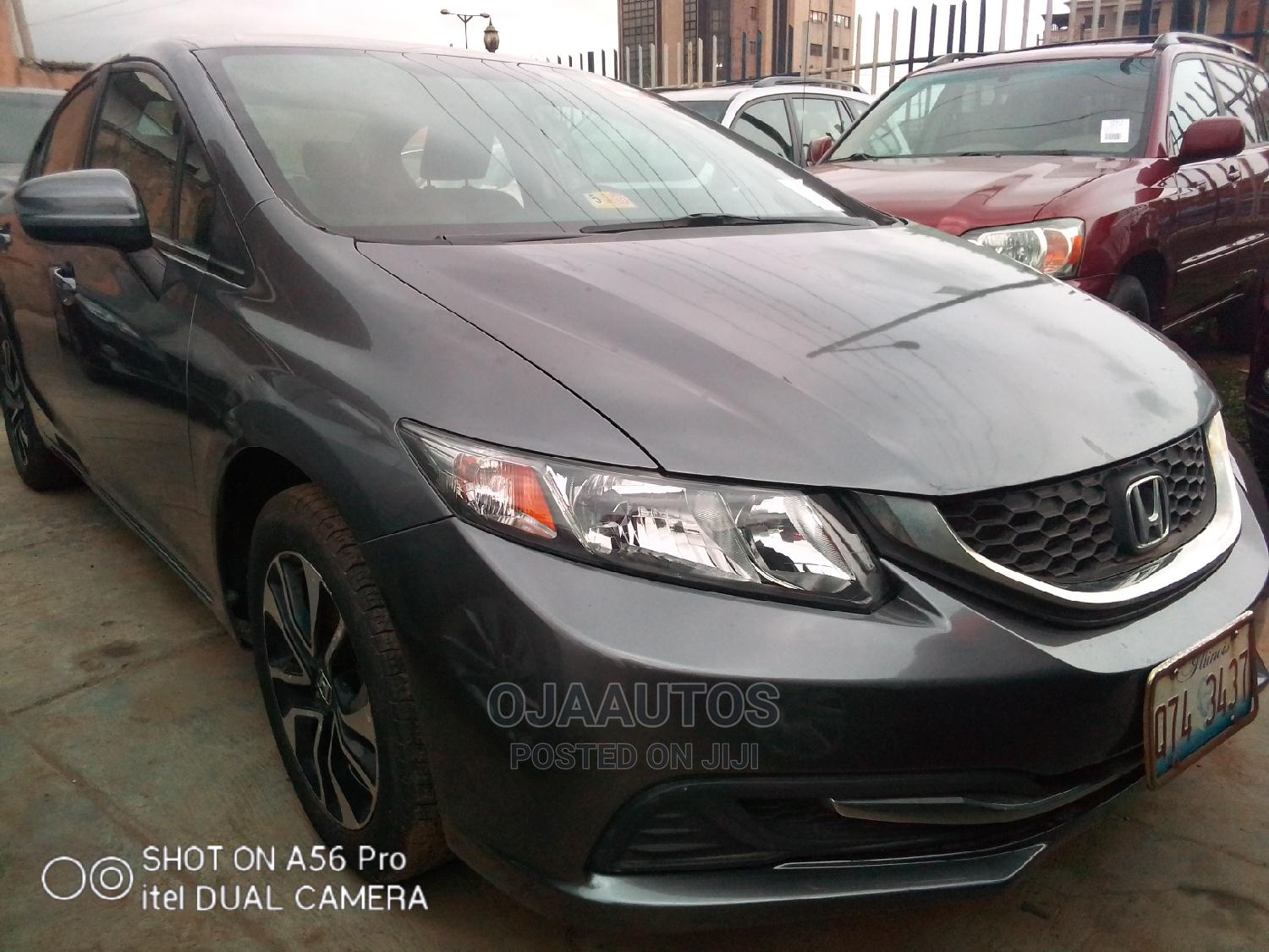 Honda Civic 2016 EX 4dr Sedan (1.5L 4cyl) Gray
