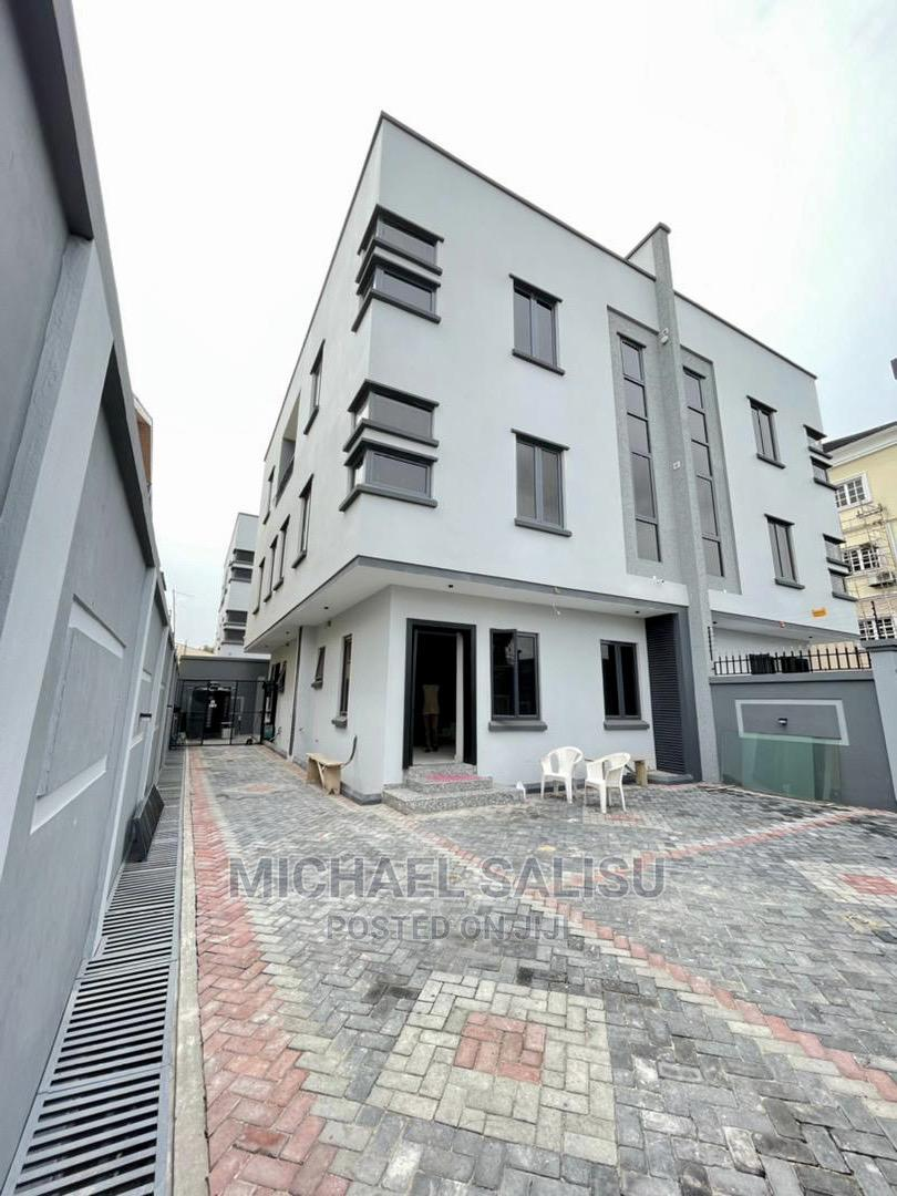 New 4 Bedroom Semi Detached Duplex With Bq at Ikoyi for Sale