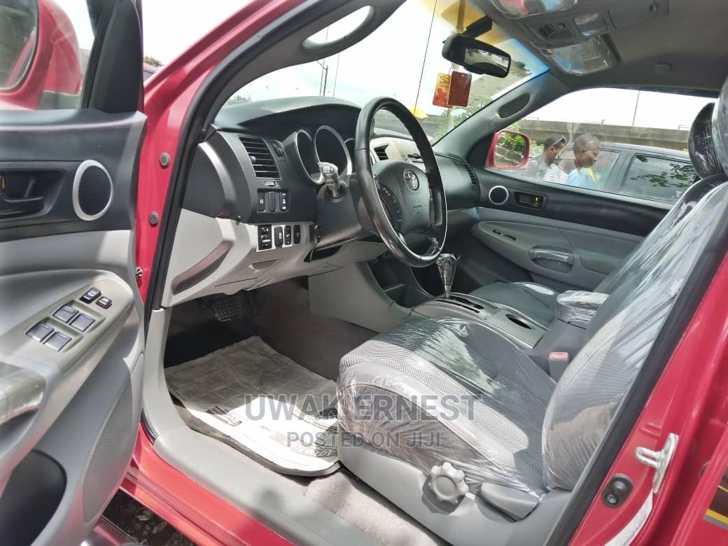 Archive: Toyota Tacoma 2010 Red