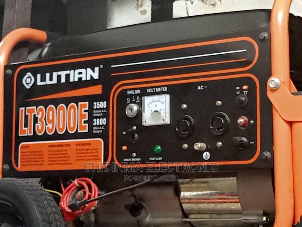 Archive: Lutian Generator 3.8kva