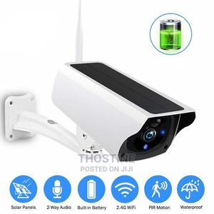 Solar Powered 1080P WIFI IP Camera | Security & Surveillance for sale in Lagos State, Ikeja