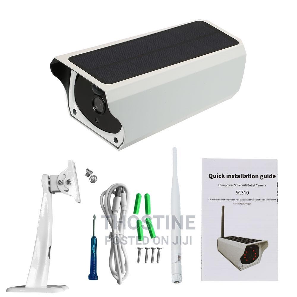 Solar Powered 1080P WIFI IP Camera   Security & Surveillance for sale in Ikeja, Lagos State, Nigeria