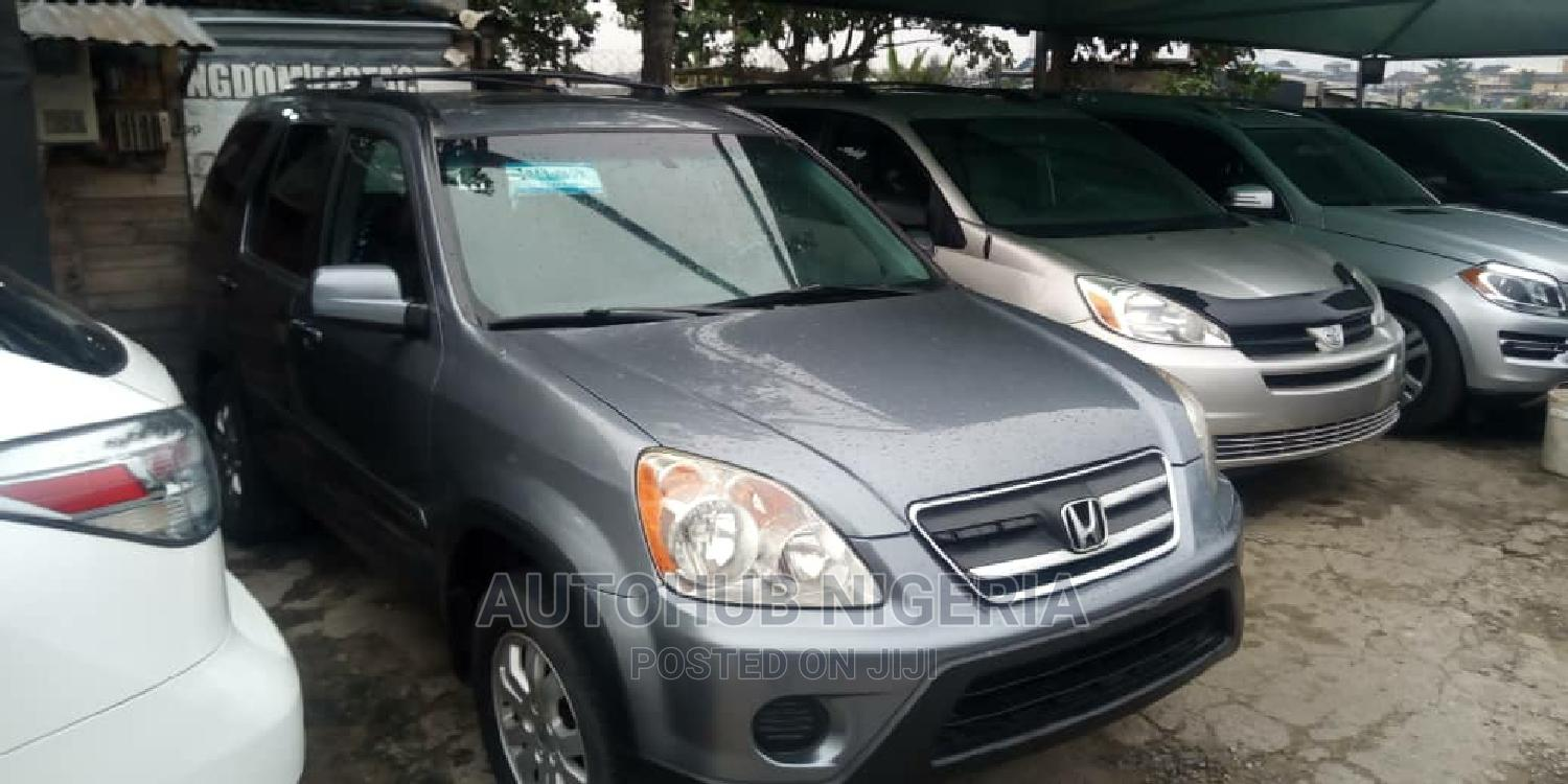 Honda CR-V 2005 Automatic Blue | Cars for sale in Amuwo-Odofin, Lagos State, Nigeria