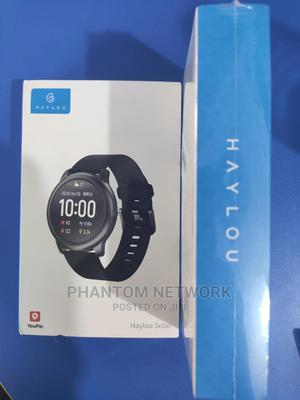 Haylou Solar LS05 Smartwatch And Fitness Tracker For Sale | Smart Watches & Trackers for sale in Abuja (FCT) State, Wuse 2