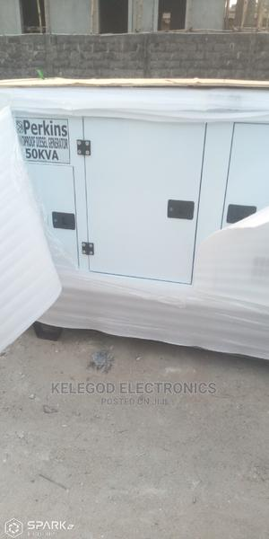 50kva Original Perkins Soundproof Diesel Generator   Electrical Equipment for sale in Lagos State, Ojodu