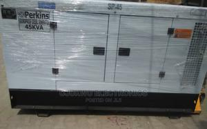 45kva Perkins Soundproof DIESEL Generator 100%Coppa Coil | Electrical Equipment for sale in Lagos State, Lekki