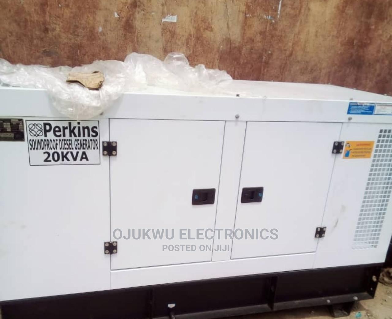 20kva Perkins Soundproof DIESEL Generator 100%Coppa