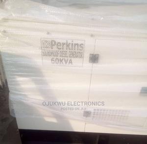 60kva Perkins Soundproof DIESEL Generator 100%Coppa | Electrical Equipment for sale in Lagos State, Lekki