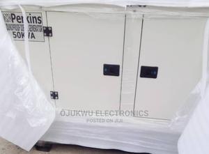 50kva Perkins Soundproof DIESEL Generator 100%Coppa | Electrical Equipment for sale in Lagos State, Lekki