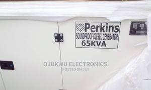 65kva Perkins Soundproof DIESEL Generator 100%Coppa | Electrical Equipment for sale in Lagos State, Lekki