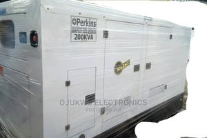 200kva Perkins Soundproof DIESEL Generator 100%Coppa | Electrical Equipment for sale in Lagos State, Lekki