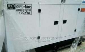 100kva Perkins Soundproof DIESEL Generator 100%Coppa | Electrical Equipment for sale in Lagos State, Lekki