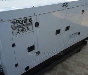 30kva Perkins Soundproof DIESEL Generator 100%Coppa | Electrical Equipment for sale in Lagos State, Lekki