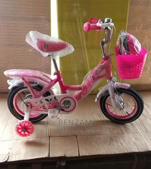Pink 12inch Wheel Bicycle   Toys for sale in Lagos State, Amuwo-Odofin