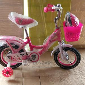 Pink 16inch Wheel Bicycle   Toys for sale in Lagos State, Amuwo-Odofin