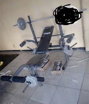 Standard Body Fitness Weight Bench | Sports Equipment for sale in Lagos State, Surulere