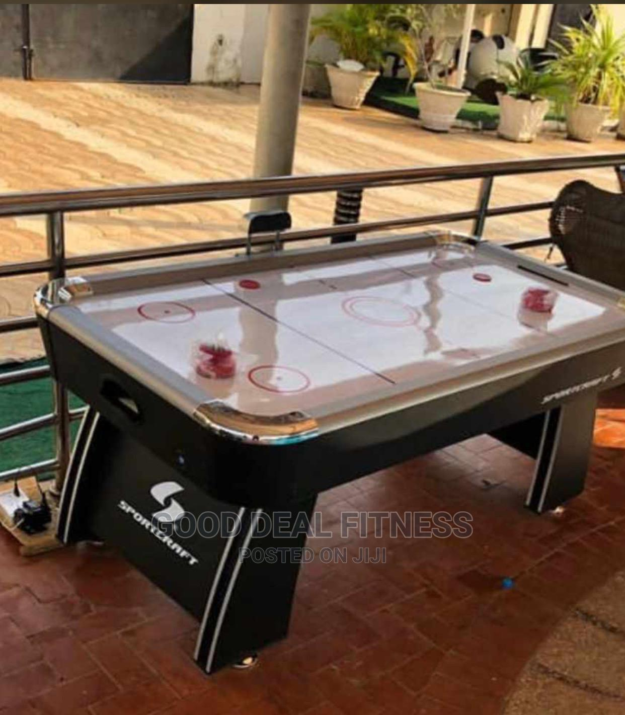 Standard Big Americans Fitness Electri Air Hockey Table | Sports Equipment for sale in Surulere, Lagos State, Nigeria