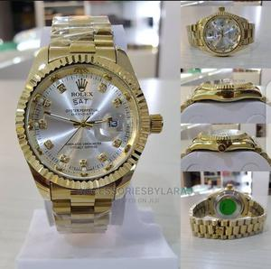Rolex Stainless Steel Wristwatch | Watches for sale in Abuja (FCT) State, Guzape District