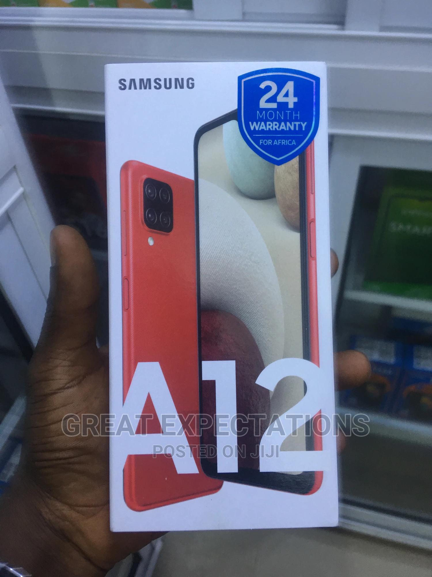 Archive: New Samsung Galaxy A12 128 GB
