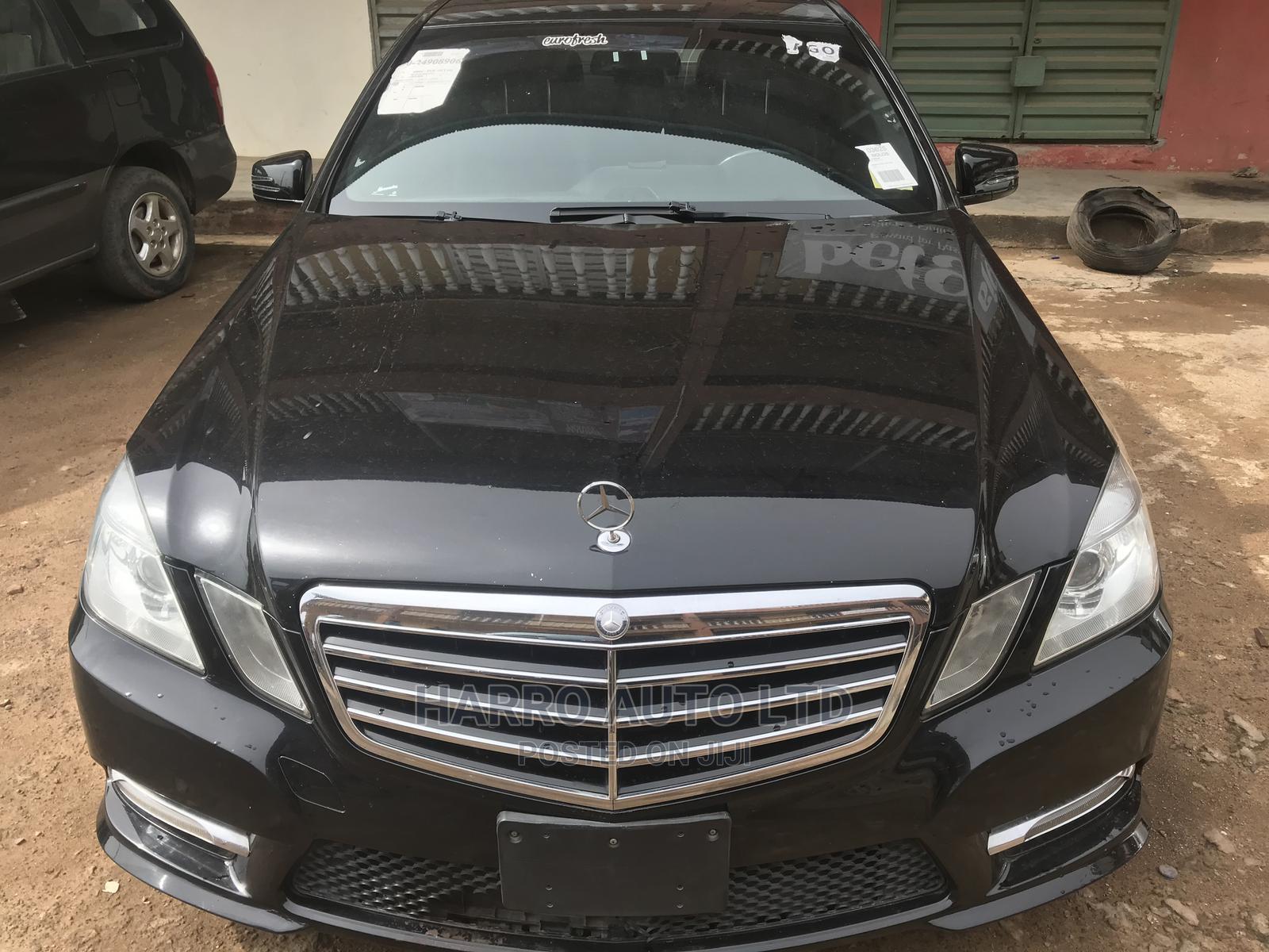 Archive: Mercedes-Benz E350 2012 Black