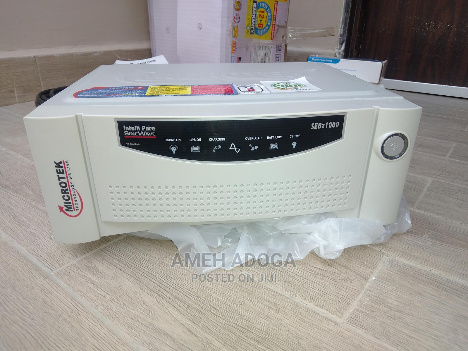 Microtek 900va/725w 12V Pure Sine Wave Inverter