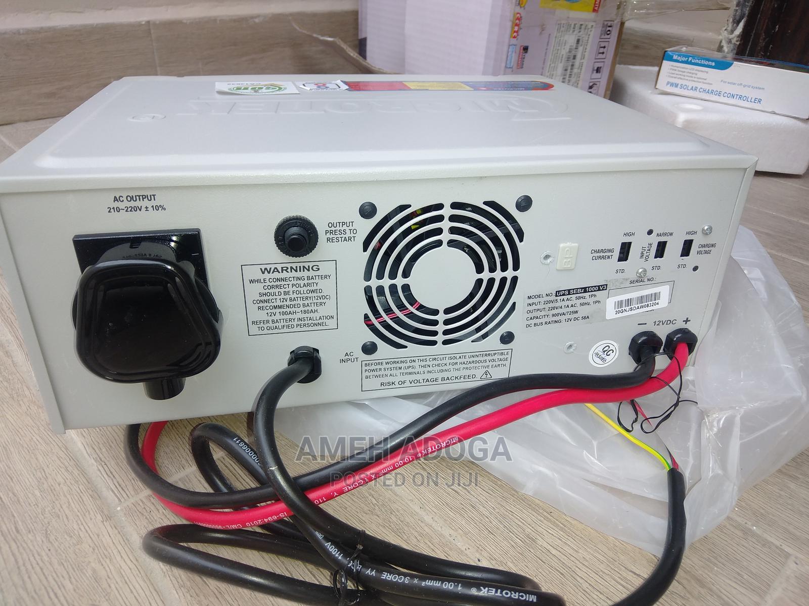 Microtek 900va/725w 12V Pure Sine Wave Inverter   Electrical Equipment for sale in Gwarinpa, Abuja (FCT) State, Nigeria