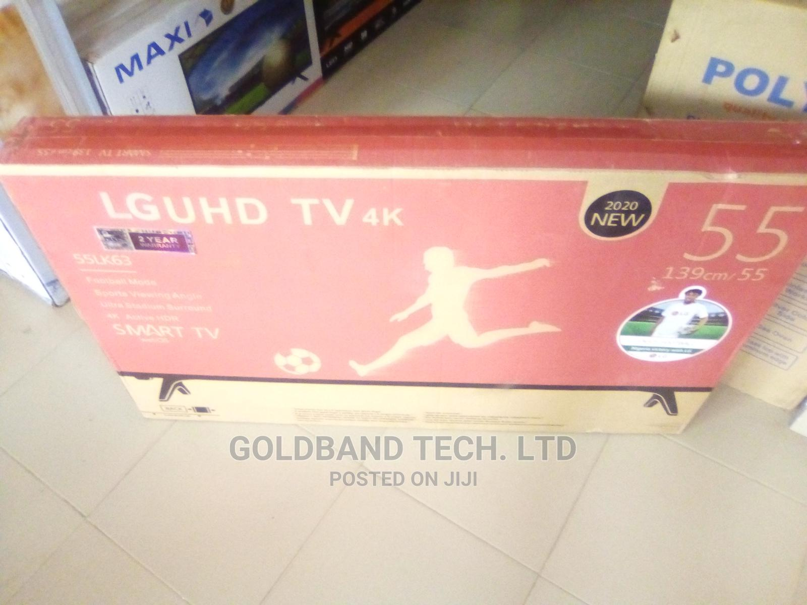 LG 55inches Smart Android Internet TV