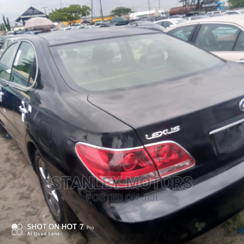 Lexus ES 2005 330 Black | Cars for sale in Apapa, Lagos State, Nigeria