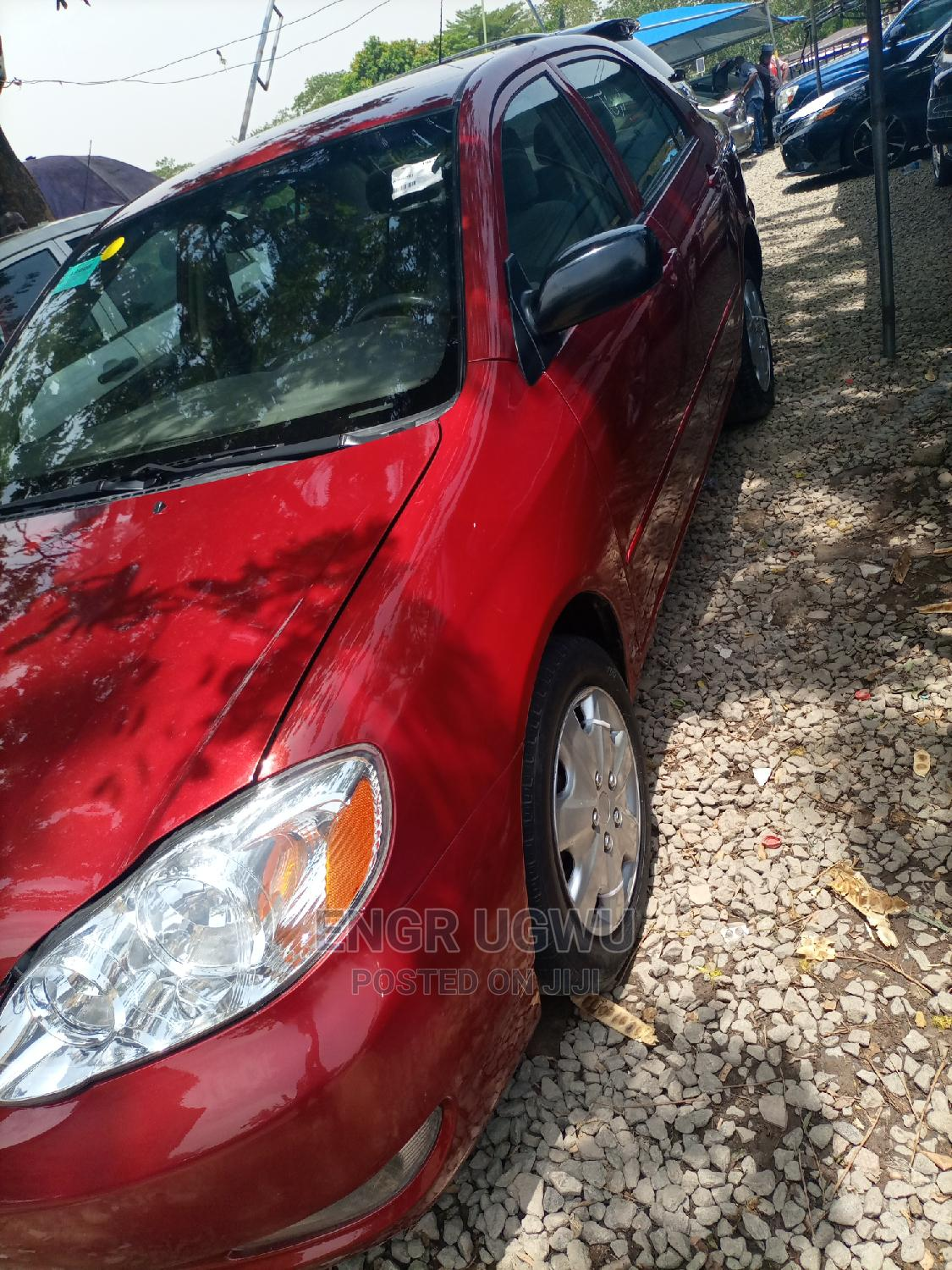 Archive: Toyota Corolla 2007 Red