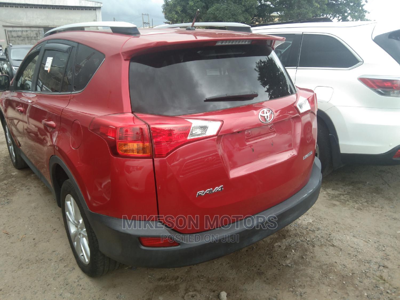 Toyota RAV4 2014 Red   Cars for sale in Apapa, Lagos State, Nigeria