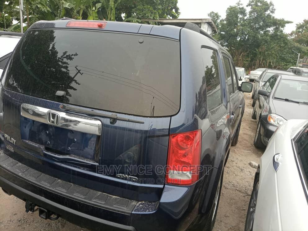 Honda Pilot 2010 Blue   Cars for sale in Amuwo-Odofin, Lagos State, Nigeria