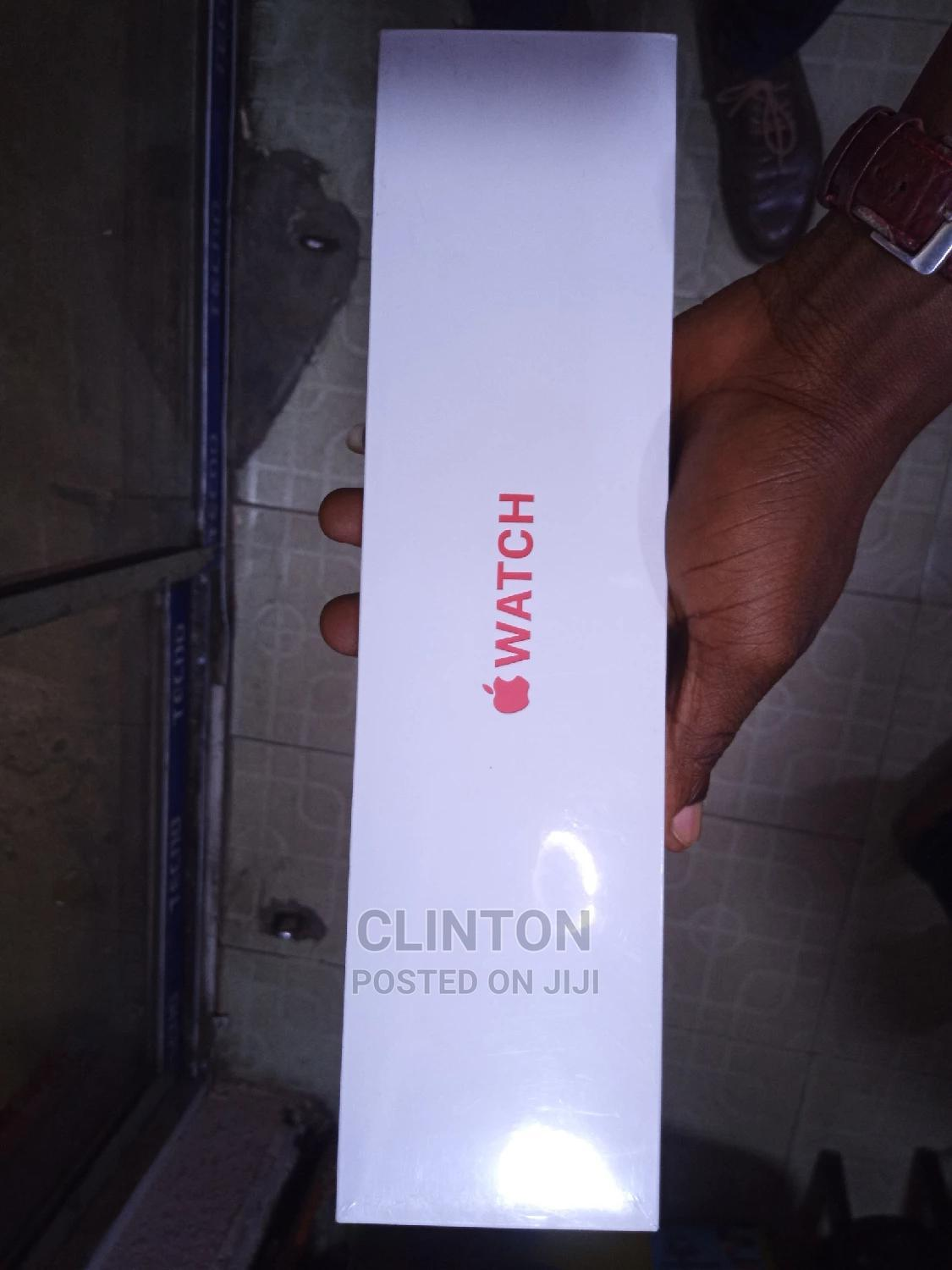 I-watch Series 6 40mm Red Sport Band | Smart Watches & Trackers for sale in Ikeja, Lagos State, Nigeria