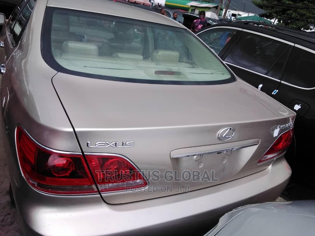 Lexus ES 2005 330 Gold | Cars for sale in Amuwo-Odofin, Lagos State, Nigeria